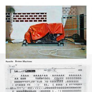 Reveille - Broken Machines - Cover